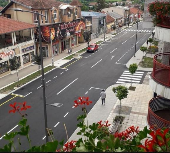 Centar Lazarevca u petoj zoni