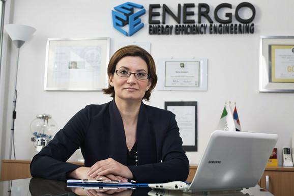 """Marija Golubović, predsednica Saveta zelene gradnje Srbije i direktorka kompanije """"Energo"""""""