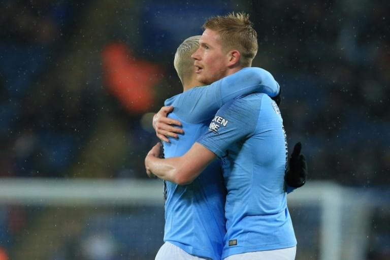 Kevin De Bruyne made a scoring return against Leicester