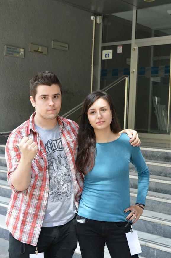 Miloš Marjanović i Teodora Rešetar, prvaci sveta u debati