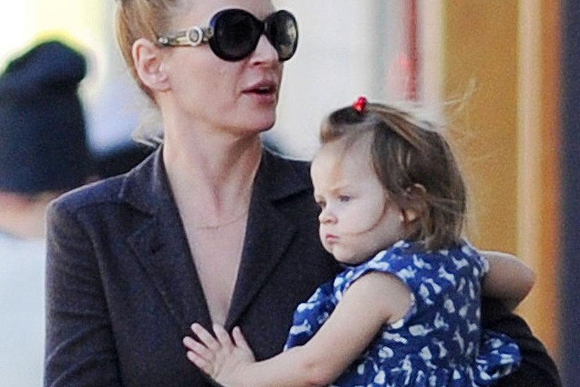 Uma Thurman straci córkę?