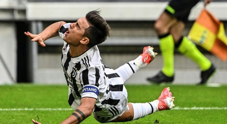 Paulo Dybala has scored three times for Juventus this season Creator: Alberto PIZZOLI