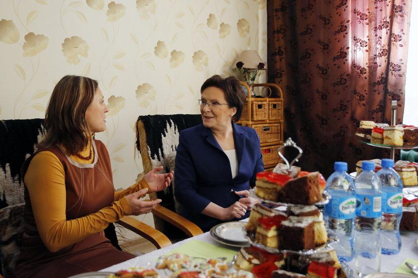 Sosnowiec. Spotkanie premier Ewy Kopacz z żonami górników