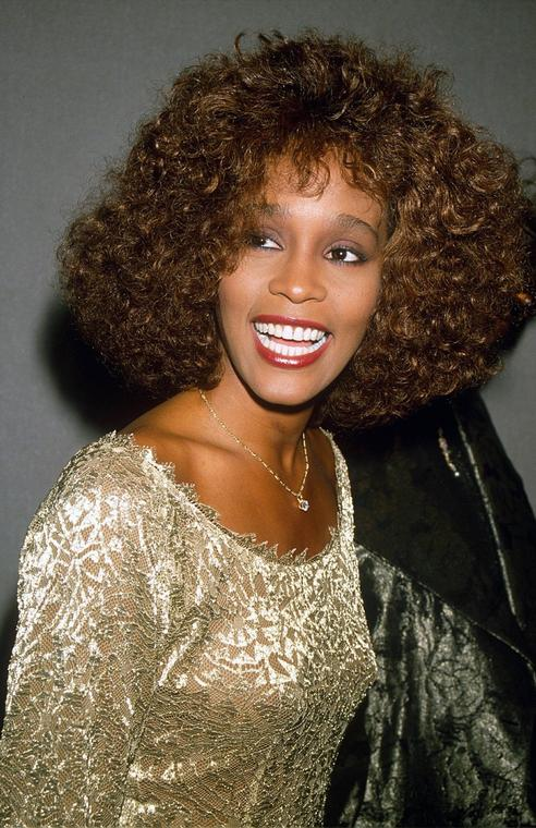 Whitney Houston w 1990 roku