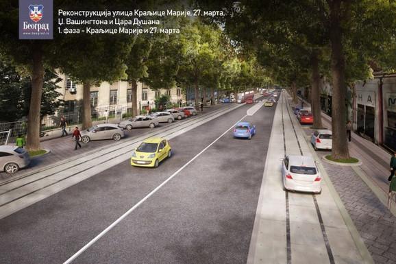Novi izgled Ulice cara Dušana