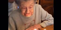 Straszne? Ale nie dla 102-latki! Miała z tego ubaw!
