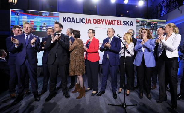 Sztab wyborczy KO