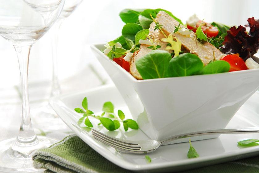 Pyszna i zdrowa sałata