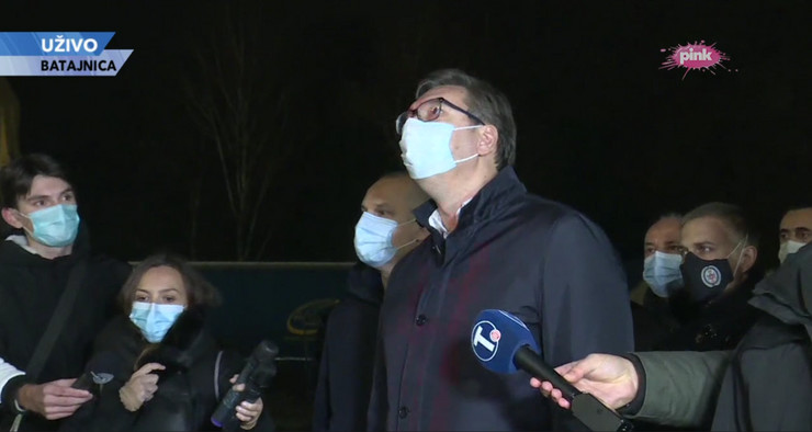Vučić bolnica obilazak