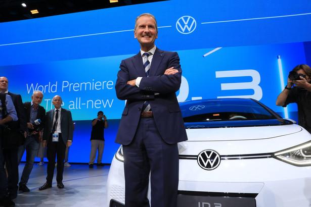 Herbert Diess, dyrektor wykonawczy Volkswagena