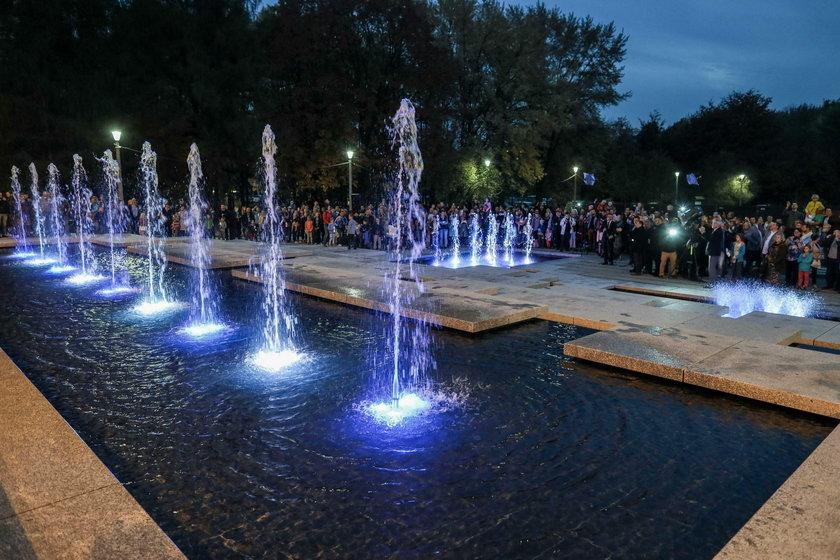 W Parku Lotników pojawiła się nowa fontanna