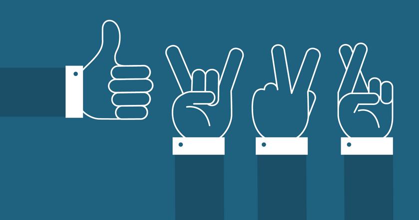 Popularne gesty nie wszędzie znaczą to samo. Sprawdź, które są uznawane za obraźliwe