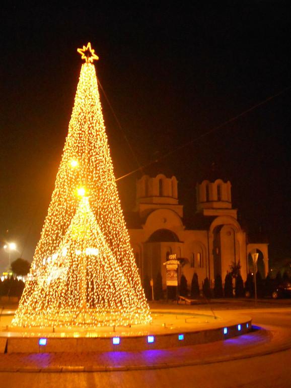 Srećna Nova 2015. godina: Centar Jagodine