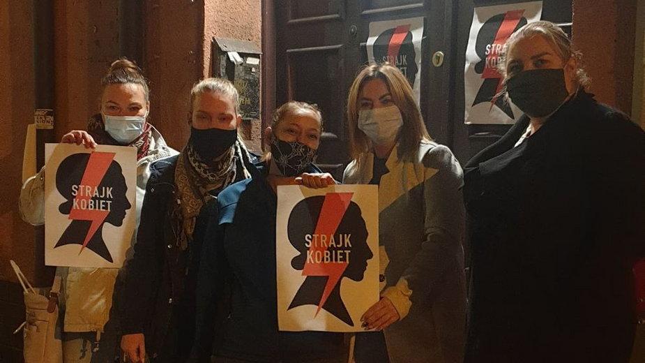 Strajk kobiet w Jaworznie