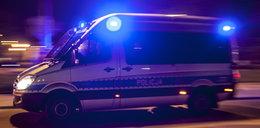 Szturm policji w Suchej Beskidzkiej