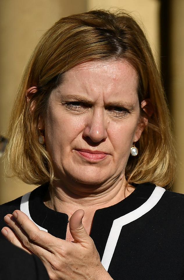 Ocalała: Amber Rudd - Partia Konserwatywna