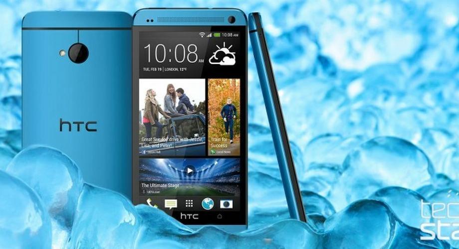 HTC: One in Blau und Bluetooth-Subwoofer