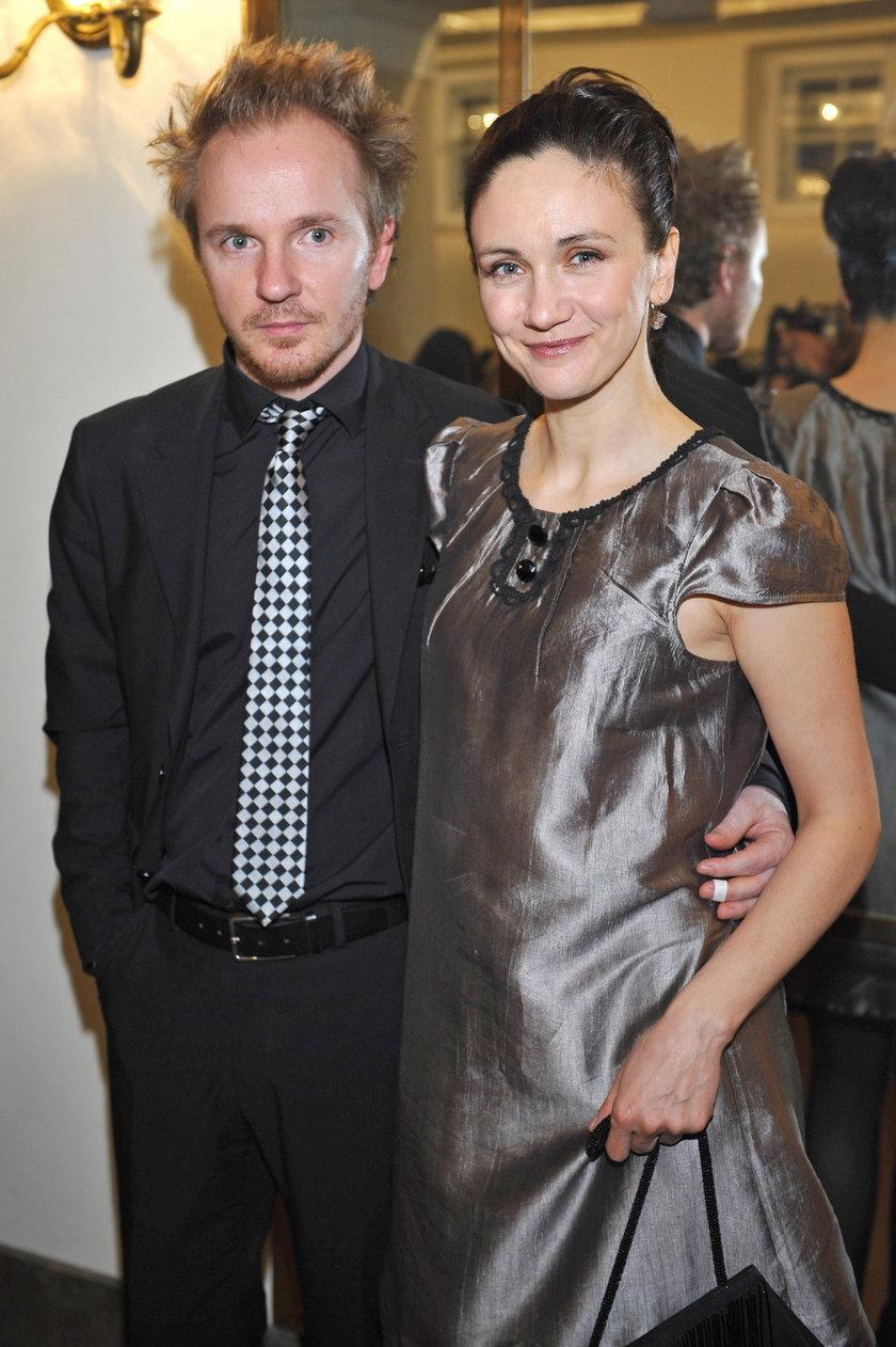 Jacek Borcuch i Olga Frycz
