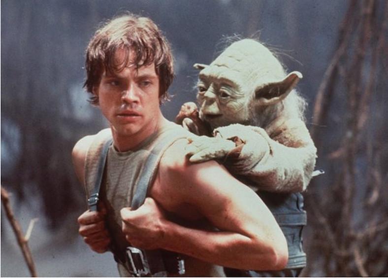 A tak mistrz Yoda trenował Luke'a Skywalkera