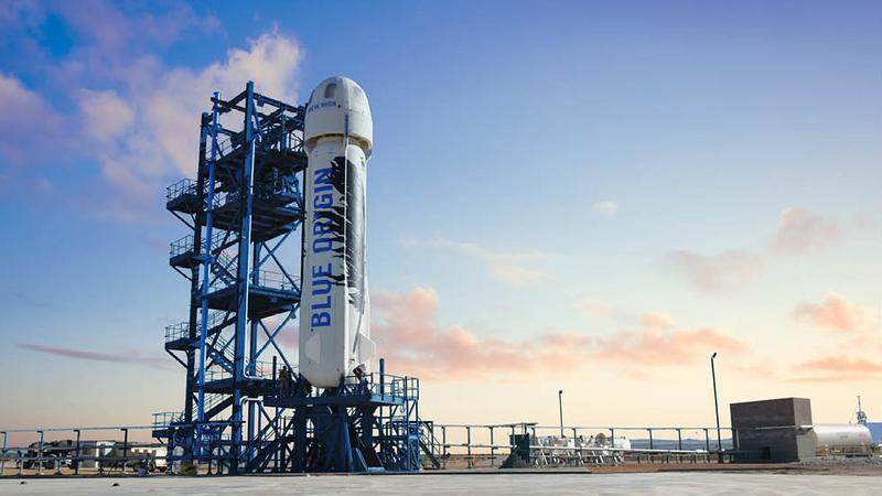 Blue Origin szykuje się do kosmicznej turystyki