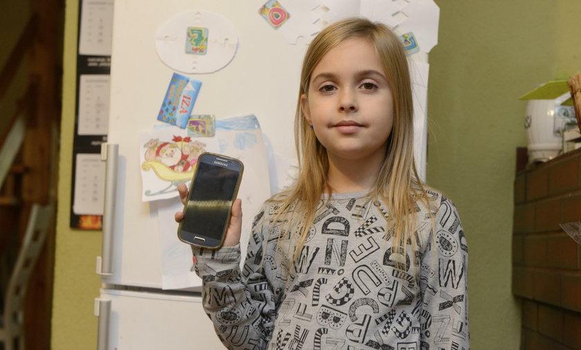 8-letnia córka ocaliła życie mamie