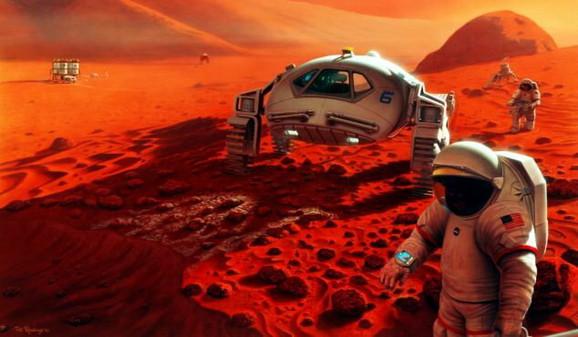 Projekcija kolonizacije Marsa
