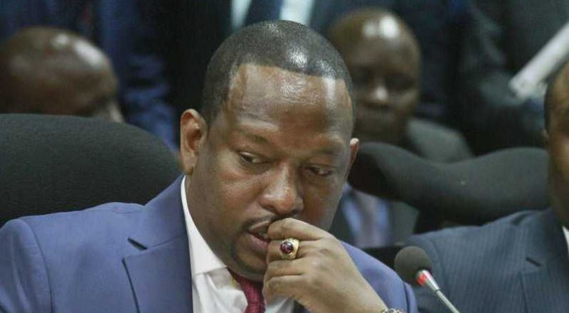 This embarrassment won't last forever – Governor Sonko speaks after his bodyguards were withdrawn