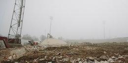 Ludzkie szczątki na budowie stadionu Widzewa!