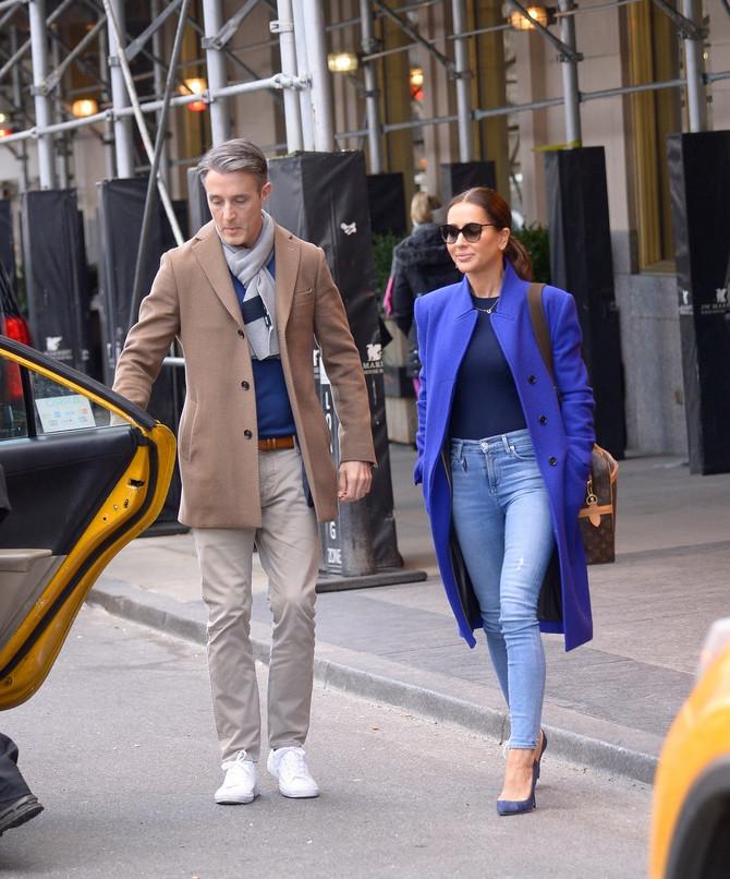 Džesika Malruni sa suprugom Benom Malrunijem početkom meseca u Njujorku