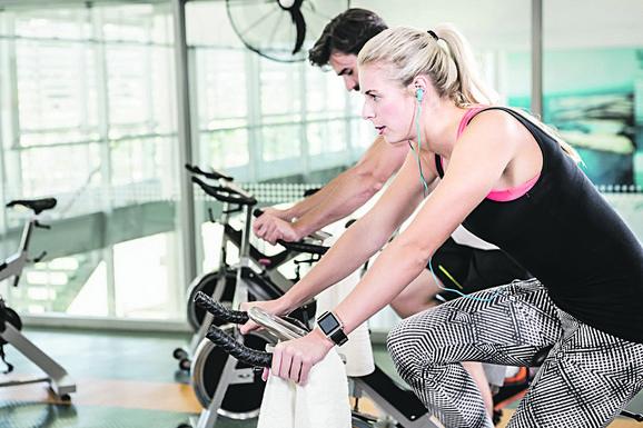 Okreću pedale i prave struju: Vežbači u teretani