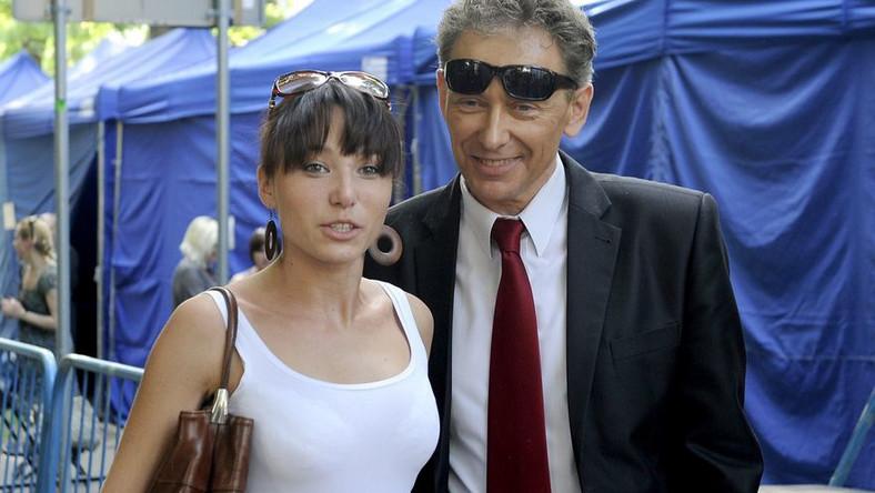 Jacek Borkowski z córką Karoliną Borkowską