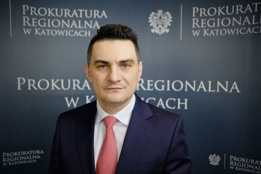 Waldemar (Lubniewski) Łubniewski - rzecznik Prokuratury Regionalnej w Katowicach