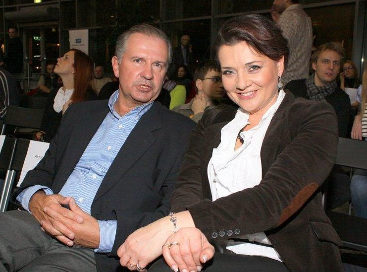 Tomasz Stockinger i Małgorzata Ostrowska-Królikowska