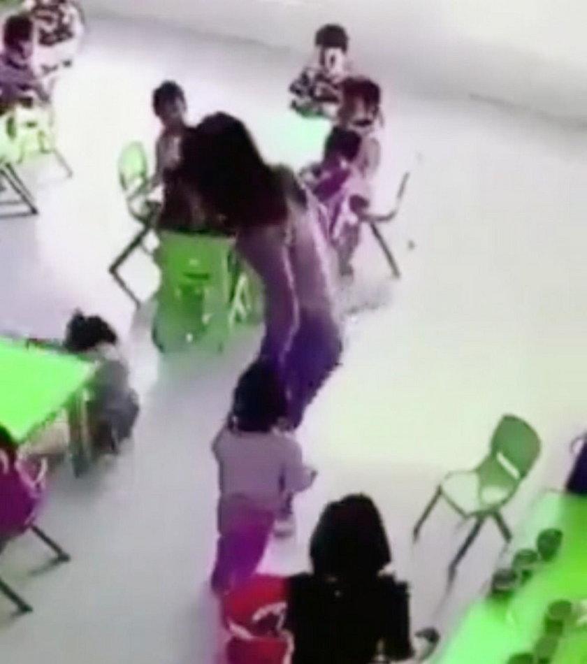 Straszne zachowanie przedszkolanki