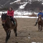 NAJHRABRIJI BRAT I SESTRA Mira (11) i Đorđe (15) na konjima se probijaju kroz sneg na putevima da bi meštanima dopremili hranu