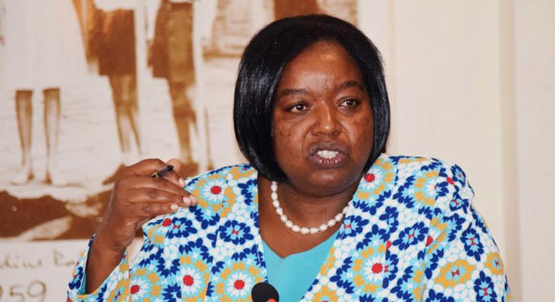 Foreign Affairs CS Monica Juma