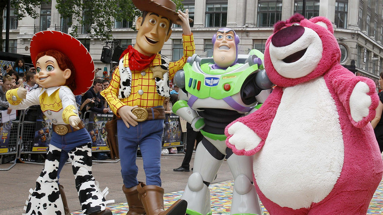 Animowane zabawki dały Pixarowi fortunę