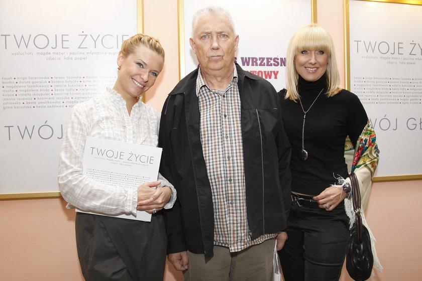 Paulina Młynarska z Wojciechem i Agatą
