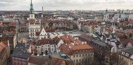 Panorama Poznania z Zamku Przemysła