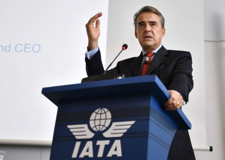 Alexandre de Juniac, IATA's Director General and CEO