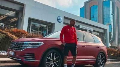 Kevin-Prince Boateng: Ex-Ghana star unveils brand new Volkswagen Touareg