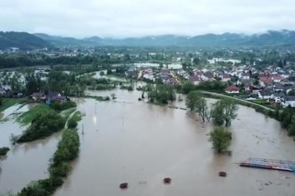 U Bosni je zbog kiša situacija alarmantna