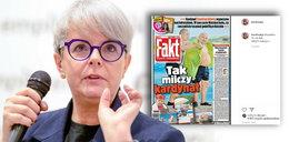 Karolina Korwin Piotrowska pokazała okładkę Faktu z kard. Dziwiszem. Komentarz był krótki, ale wymowny