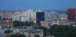 Tak wygląda Łódź ze szczytu komina