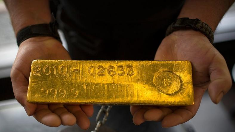 Man smuggled gold bar in his butt.