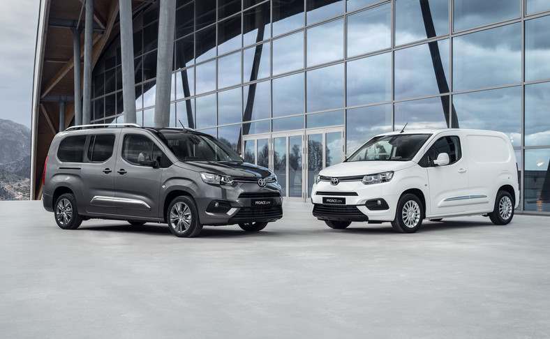 Toyoty Proace City Verso i Proace City