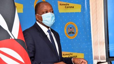 Coronavirus infections can re-occur between 30-50 days after recovery – Mutahi Kagwe