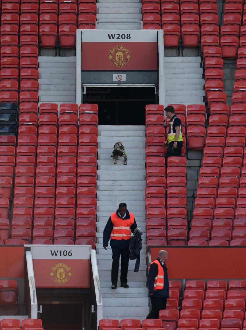 Stadion Manchesteru United ewakuowany!