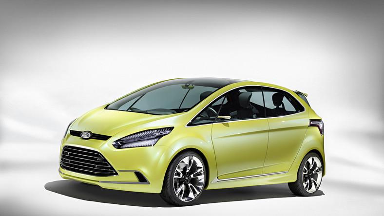 w Genewie Ford z dumą prezentuje iosis MAX - czyli trzeci, najnowszy projekt w dynamicznej konwencji kinetic design