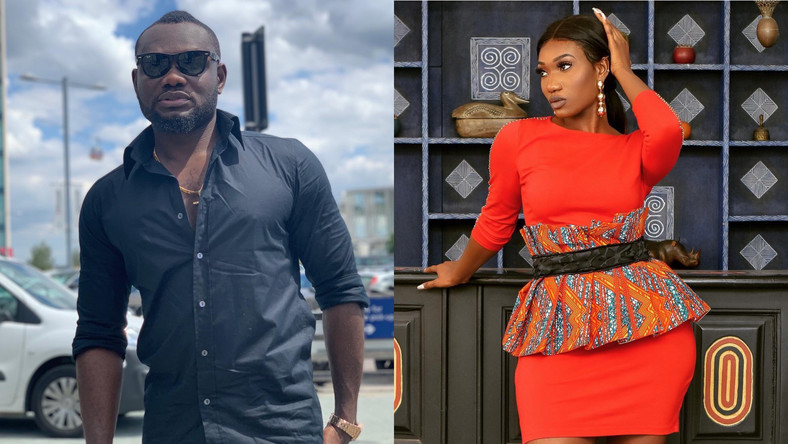 Prince David Osei and Wendy Shay